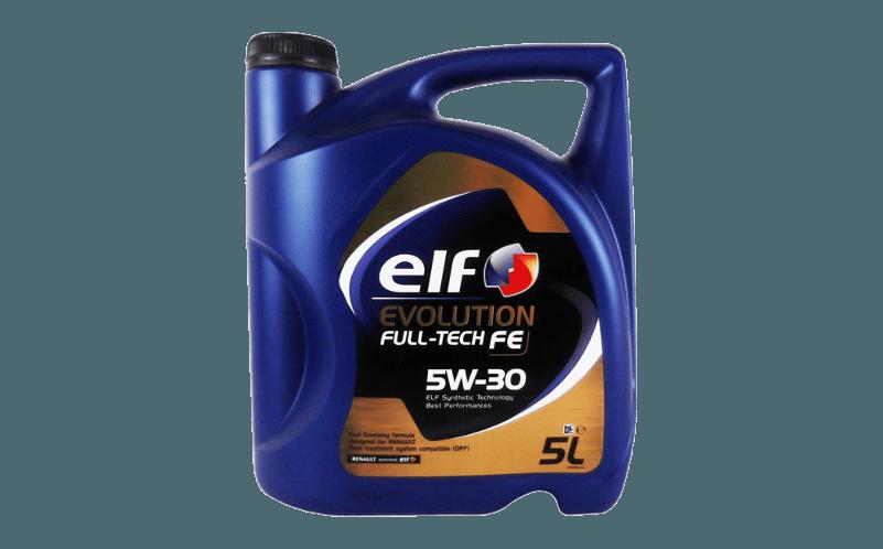 Olej silnikowy ELF Full Tech FE 5W30 Oleje syntetyczne