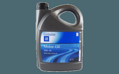 Olej silnikowy GM 10W40 400x250 GM