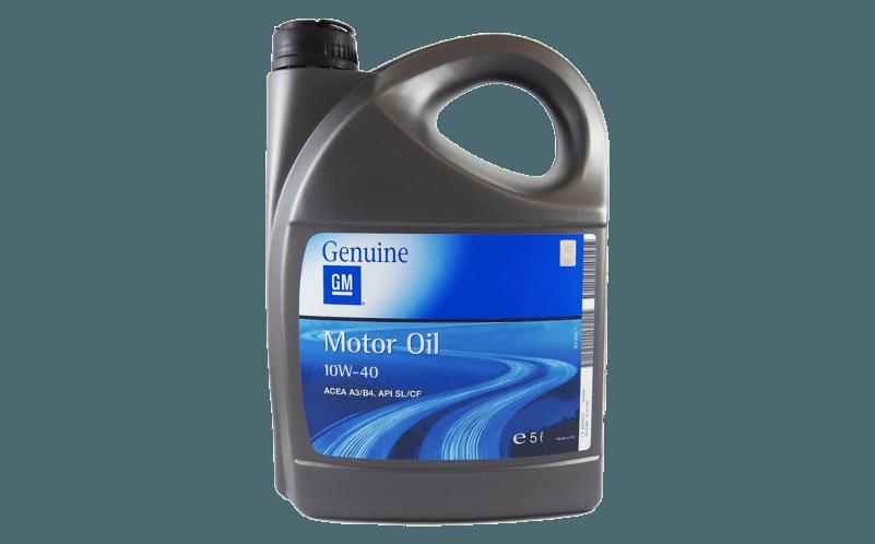 Olej silnikowy GM 10W40 Ranking olejów