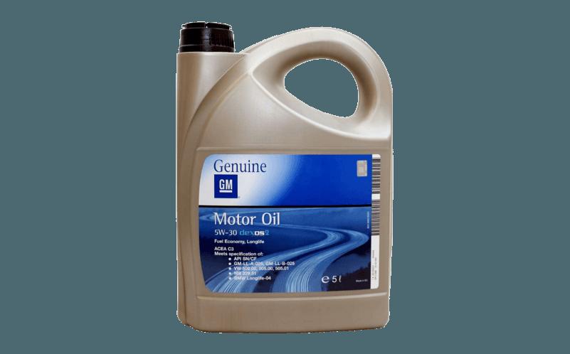 Olej silnikowy GM 5W30 Olej silnikowy GM 5W30