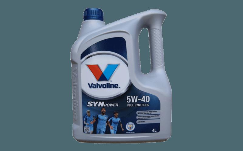 Olej silnikowy VAL SP 5W40 Oleje syntetyczne