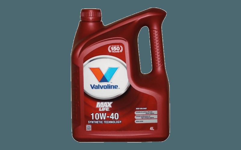 Olej silnikowy Valvoline Max Life 10W40 Ranking olejów